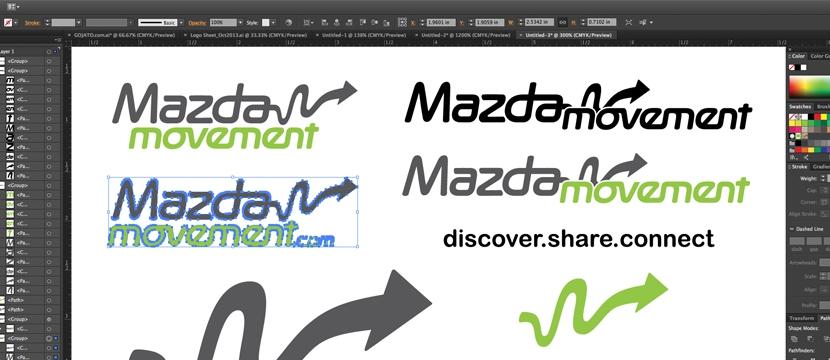 Movement Logo Design Logo Design