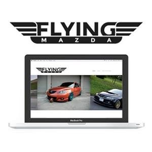 Flying Mazda